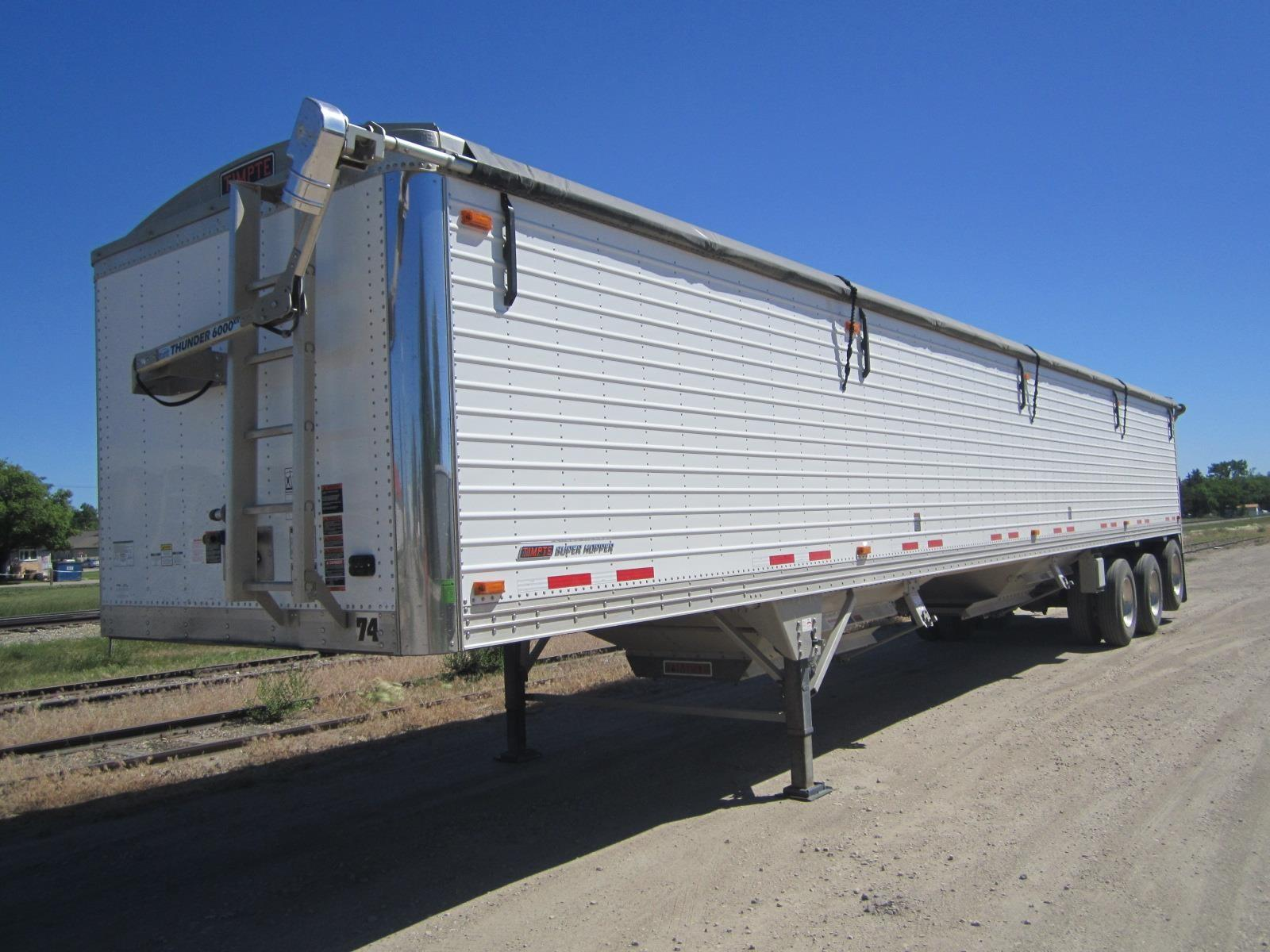 2018 TIMPTE 48' TRIAXLE GRAIN TRAILER for sale Call for price at BP Motors in Morden MB R6M 1Y9 1