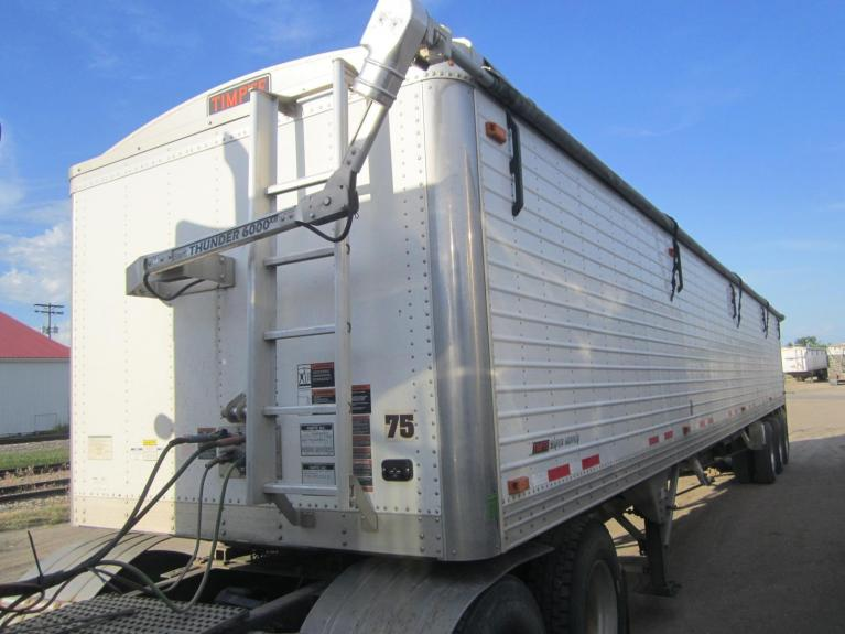 Used 2018 TIMPTE 48' TRIAXLE GRAIN TRAILER for sale Call for price at BP Motors in Morden MB