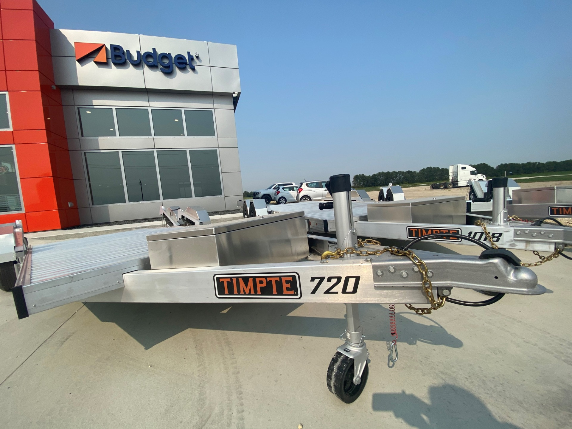 2022 Timpte 720 Utility Trailer for sale $13,200 at BP Motors in Morden MB R6M 1Y9 1